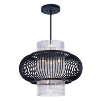 Maxim Lighting Aviary 13 Light Pendant in Anthracite 38387CLAR