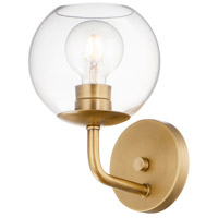 Maxim 38411CLNAB Branch 1 Light 7 inch Natural Aged Brass Wall Sconce Wall Light