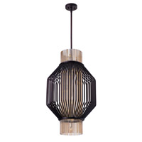 Maxim 38484CGOI Aviary LED 19 inch Oil Rubbed Bronze Pendant Ceiling Light
