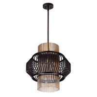 Maxim 38486CGOI Aviary LED 20 inch Oil Rubbed Bronze Pendant Ceiling Light