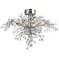 Maxim 38502CLPN Cluster LED 29 inch Polished Nickel Semi-Flush Mount Ceiling Light