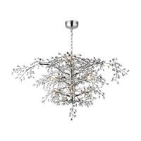 Maxim 38506CLPN Cluster LED 47 inch Polished Nickel Chandelier Ceiling Light
