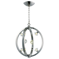 Equinox LED LED 18 inch Polished Nickel Pendant Ceiling Light