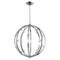 Maxim Lighting Equinox LED 28 Light Pendant in Polished Nickel 39108BCPN