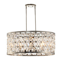 Maxim 39507BCPN Cassiopeia 8 Light 16 inch Polished Nickel Multi-Light Pendant Ceiling Light