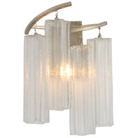 Maxim 39571WFLGS Victoria 1 Light Golden Silver Wall Sconce Wall Light