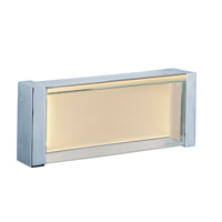 Vista 1 Light 10 inch Polished Chrome Vanity Light Wall Light