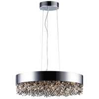 Maxim 39655MSKPC Mystic LED 24 inch Polished Chrome Single Pendant Ceiling Light