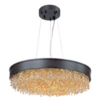 Maxim Mystic 1 Light Single Pendant in Bronze 39655SHBZ