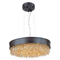 Maxim Mystic 1 Light Single Pendant in Bronze 39657SHBZ