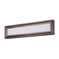 Rembrant LED LED 24 inch Anodized Bronze Vanity Light Wall Light