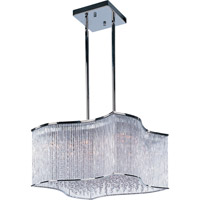 Swizzle 20 Light 25 inch Polished Chrome Single Pendant Ceiling Light