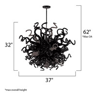 Maxim Lighting Taurus LED 18 Light Single Pendant in Polished Chrome 39735SRPC alternative photo thumbnail
