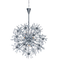 Starfire 11 Light 22 inch Polished Chrome Chandelier Ceiling Light