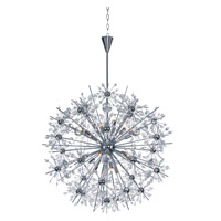 Starfire 18 Light 32 inch Polished Chrome Chandelier Ceiling Light