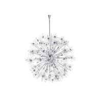 Starfire 40 Light 44 inch Polished Chrome Chandelier Ceiling Light