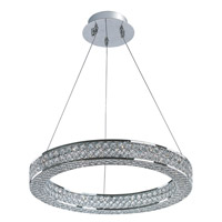 Eternity LED 1 Light 20 inch Polished Chrome Foyer Pendant Ceiling Light