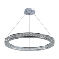 Eternity LED 1 Light 30 inch Polished Chrome Foyer Pendant Ceiling Light