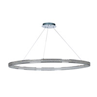 Eternity LED 60 inch Polished Chrome Foyer Pendant Ceiling Light