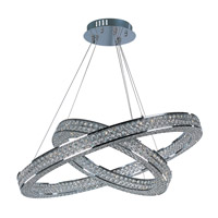 Maxim Eternity LED 1 Light Foyer Pendant in Polished Chrome 39777BCPC