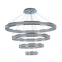Eternity LED 1 Light 40 inch Polished Chrome Foyer Pendant Ceiling Light