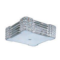 Maxim Lighting Manhattan 4 Light Flush Mount in Polished Chrome 39780BCPC