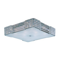 Maxim 39781BCPC Manhattan 8 Light 23 inch Polished Chrome Flush Mount Ceiling Light
