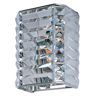 Maxim Lighting Manhattan 1 Light Wall Sconce in Polished Chrome 39782BCPC