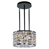 Fifth Avenue 6 Light 16 inch Luster Bronze Multi-Light Pendant Ceiling Light