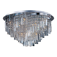 Maxim Lighting Belvedere 18 Light Flush Mount in Polished Chrome 39801BCPC