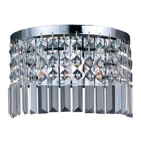 Maxim Lighting Belvedere 3 Light Wall Sconce in Polished Chrome 39808BCPC
