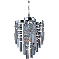 Belvedere 4 Light 9 inch Polished Chrome Pendant Ceiling Light