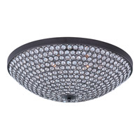 Maxim Lighting Glimmer 6 Light Flush Mount in Bronze 39872BCBZ