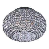 Maxim 39875BCBZ Glimmer 5 Light 15 inch Bronze Flush Mount Ceiling Light