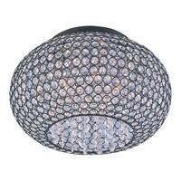 Maxim 39875BCBZ Glimmer 5 Light 15 inch Bronze Flush Mount Ceiling Light
