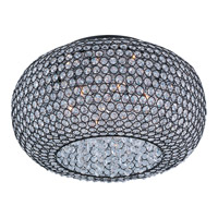Glimmer 6 Light 18 inch Bronze Flush Mount Ceiling Light