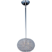 Glimmer 3 Light 11 inch Plated Silver Pendant Ceiling Light