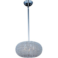 Glimmer 5 Light 15 inch Plated Silver Pendant Ceiling Light