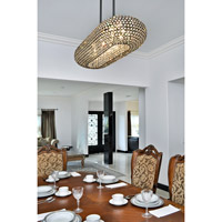 Maxim 39883BCPS Glimmer 8 Light 10 inch Plated Silver Pendant Ceiling Light alternative photo thumbnail