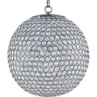 Maxim 39886BCBZ Glimmer 5 Light 16 inch Bronze Single Tier Chandelier Ceiling Light