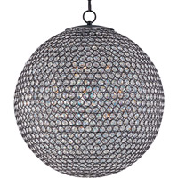 Glimmer 12 Light 24 inch Bronze Single Tier Chandelier Ceiling Light