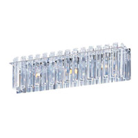 Maxim Lighting Facets 3 Light Bath Light in Polished Chrome 39913BCPC