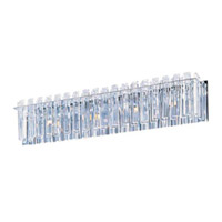 Maxim Lighting Facets 4 Light Bath Light in Polished Chrome 39914BCPC