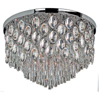 Maxim Lighting Jewel 22 Light Flush Mount in Polished Chrome 39923BCPC