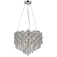 Jewel 12 Light 18 inch Polished Chrome Pendant Ceiling Light