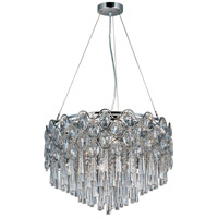 Jewel 20 Light 22 inch Polished Chrome Pendant Ceiling Light