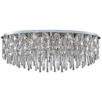 Jewel 23 Light 20 inch Polished Chrome Flush Mount Ceiling Light
