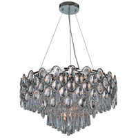 Jewel 24 Light 26 inch Polished Chrome Single Pendant Ceiling Light