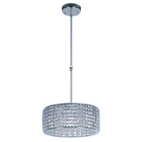 Vision 9 Light 17 inch Polished Chrome Single Pendant Ceiling Light