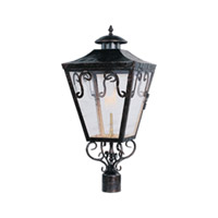 Maxim Lighting Cordoba Gas Outdoor Pole/Post Lantern in Oil Rubbed Bronze 39991CLOI